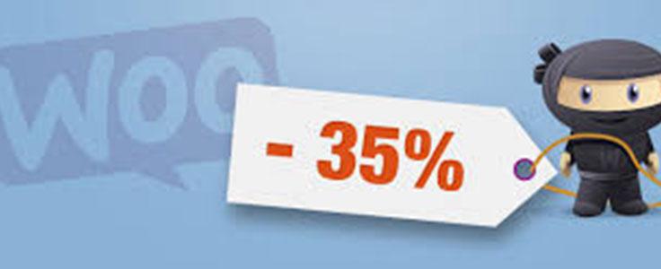 Comment afficher le pourcentage de réduction des promotions dans WooCommerce