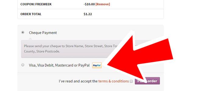 Modifier le logo Paypal dans les options de paiement de WooCommerce